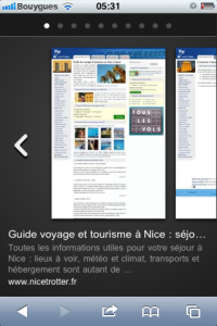 Google Instant Preview pour mobile